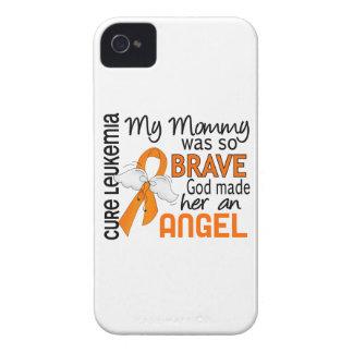 Leucemia de la mamá del ángel 2 Case-Mate iPhone 4 cobertura