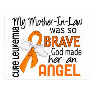 Leucemia de la suegra del ángel 2 postales