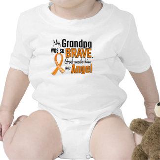 Leucemia del abuelo del ángel traje de bebé