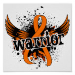 Leucemia del guerrero 16 impresiones