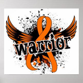 Leucemia del guerrero 16 posters