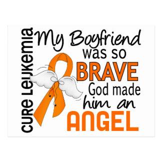 Leucemia del novio del ángel 2 tarjetas postales