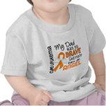 Leucemia del papá del ángel 2 camiseta