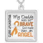 Leucemia del papá del ángel 2 grimpola personalizada
