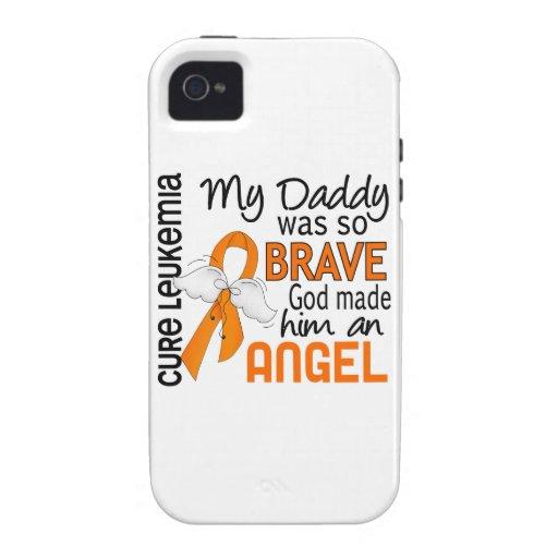Leucemia del papá del ángel 2 iPhone 4/4S fundas