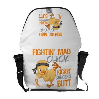Leucemia del polluelo de Fightin Bolsas De Mensajería