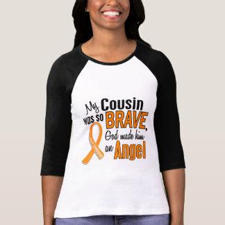 Leucemia del primo del ángel (varón) camiseta