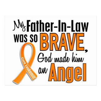 Leucemia del suegro del ángel tarjetas postales