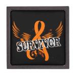Leucemia del superviviente 16 caja de regalo de calidad