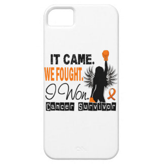 Leucemia del superviviente 22 funda para iPhone 5 barely there
