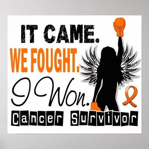 Leucemia del superviviente 22 poster