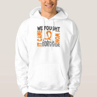 Leucemia del superviviente 5 sudadera
