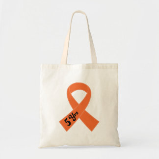 Leucemia del superviviente de 5 años bolsa tela barata