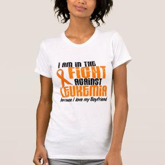 LEUCEMIA en la lucha para mi novio 1 Tee Shirts