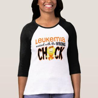 Leucemia ensuciada con el polluelo incorrecto playera