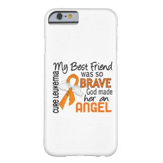 Leucemia (femenina) del mejor amigo del ángel 2 funda para iPhone 6 barely there