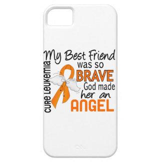 Leucemia (femenina) del mejor amigo del ángel 2 funda para iPhone SE/5/5s
