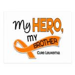 Leucemia MI HÉROE MI BROTHER 42 Postal