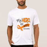 Leucemia MI HÉROE MI ESPOSA 42 Camisetas