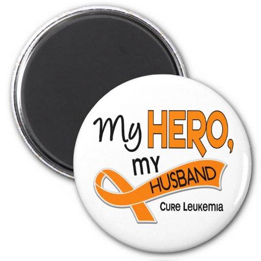 Leucemia MI HÉROE MI MARIDO 42 Imán Redondo 5 Cm