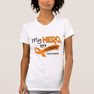 Leucemia MI HÉROE MI MARIDO 42 Camiseta