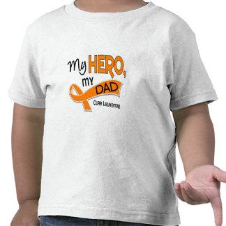 Leucemia MI HÉROE MI PAPÁ 42 Camiseta