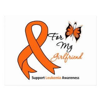 Leucemia - para mi novia tarjetas postales