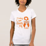 Leucemia que falta a mi hija 1 camisetas