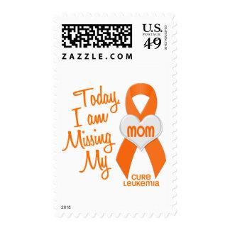 Leucemia que falta a mi mamá 1 timbre postal