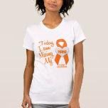 Leucemia que falta a mi Nana 1 Camiseta