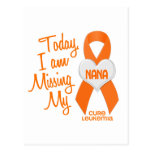 Leucemia que falta a mi Nana 1 Postal