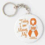 Leucemia que falta a mi papá 1 llaveros