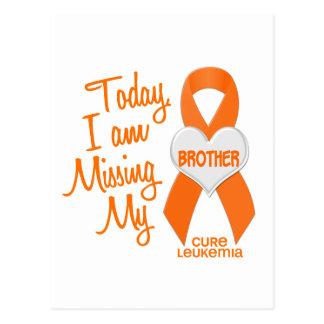 Leucemia que falta mi Brother 1 Postales
