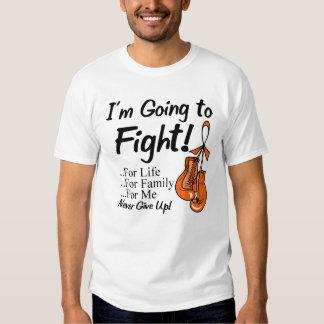 Leucemia voy a luchar playera