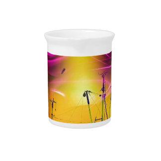 Leuchtturmromantik Lighthouse - fireworks 2 Drink Pitchers