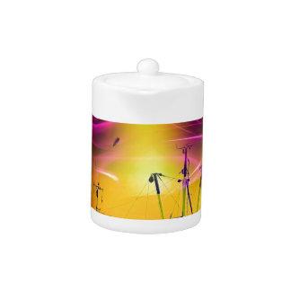 Leuchtturmromantik Lighthouse - fireworks 2 Teapot