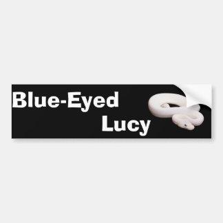 Leucistic Ball Python Bumper Sticker