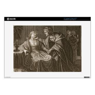 Leucothoe Seduced by Apollo in the Shape of Euryno Laptop Skin