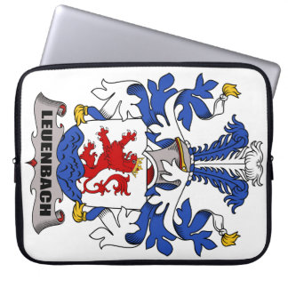 Leuenbach Family Crest Computer Sleeves