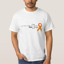 Leukemia and Lymphoma Word Collage Shirt