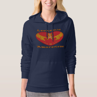 Leukemia Aware Ladies Hoodie