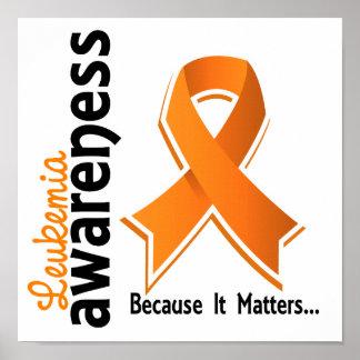 Leukemia Awareness 5 Poster