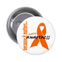 Leukemia Awareness Button