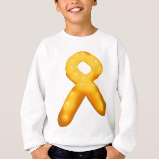 Leukemia Awareness Candle Ribbon Sweatshirt