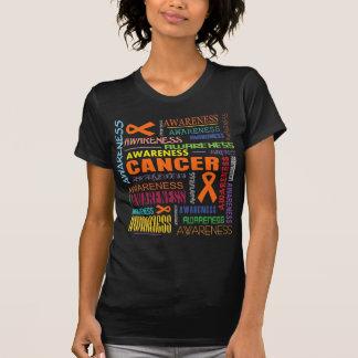 Leukemia Awareness Collage Tee Shirts