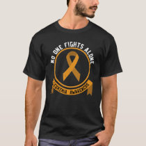 Leukemia Awareness Fight The Stigma Blood Cancer  T-Shirt