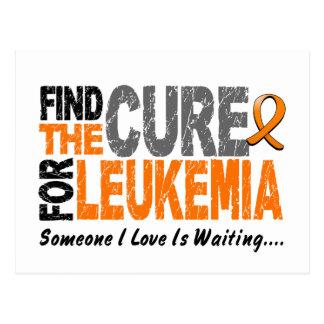 Leukemia Awareness FIND THE CURE 1 Postcard