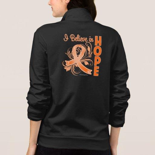 Leukemia Awareness I Believe in Hope Jacket