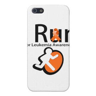 Leukemia Awareness I Run Cover For iPhone 5/5S