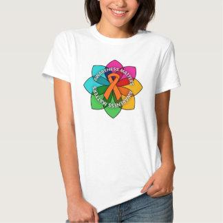 Leukemia Awareness Matters Petals T-shirt